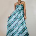 Strapless Maxi Dress Sexy Spring an..