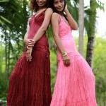 Pink Tie Dyed Maxi Dress : Exotic C..