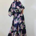 Kaftan Long Maxi Dress Boho with lo..