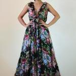 Chiffon Maxi Dress Gorgeous Black C..