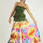 Jumpsuit Tie Dye Hippie Boho Jumper..