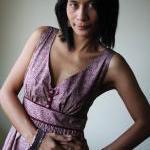 Long Maxi Dress - Flower Print Summ..