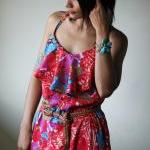 Long Summer Dress Maxi Floral Bohem..