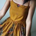 Short Summer Dress - Paisley smock ..