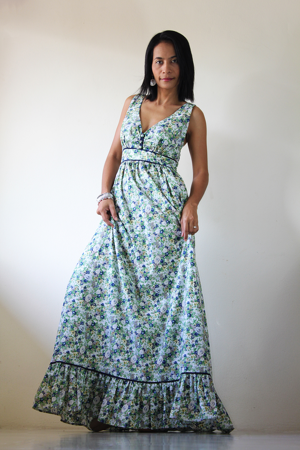 d577d61ac3f Floral Maxi Dress - Long Summer Dress   You Wear It Well Collection ...