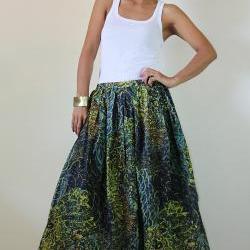 Peacock Maxi Skirt : Feel Good Collection II