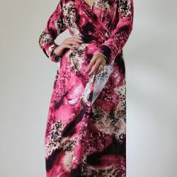 Long Sleeve Dress - Purple..